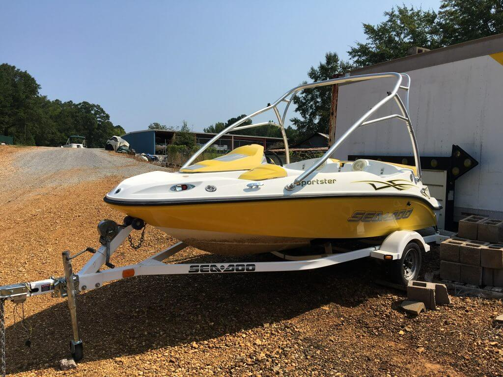 Sea Doo Sportster 155 Dropped Off at Jimmy's