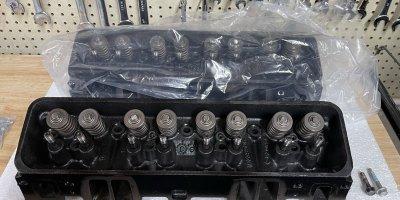 MerCruiser 5.7 Cylinder Head Refreshed