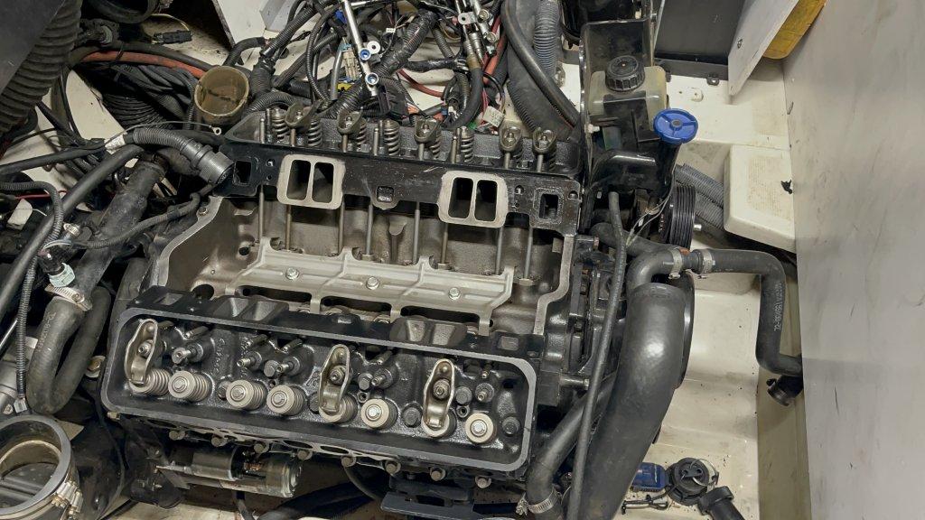 Pre Intake Manifold Install