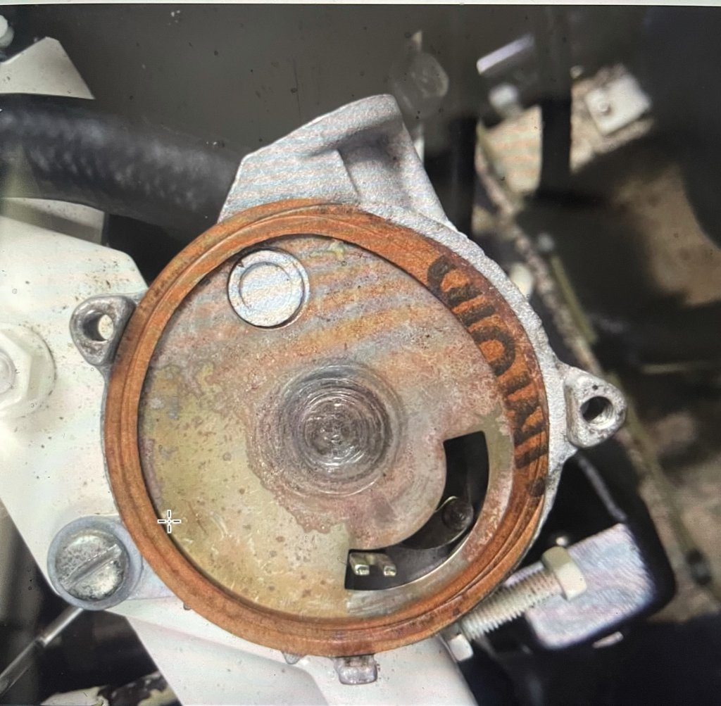Kohler 7.3E Generator Choke Off