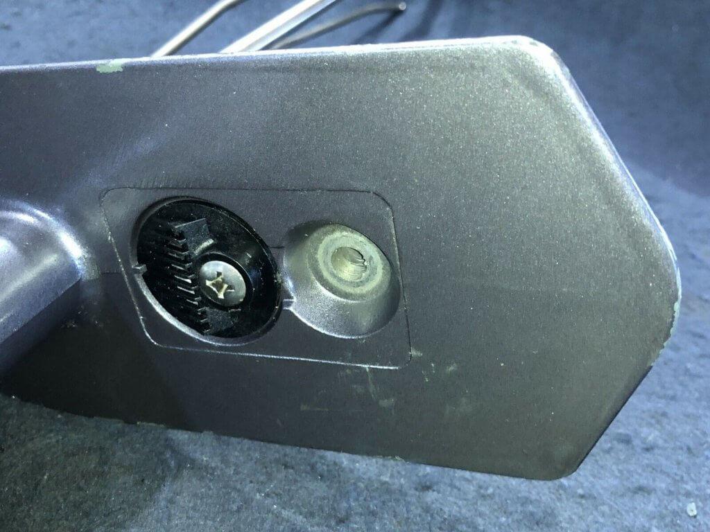 Bottom View Nissan Tohatsu 5hp Gear Case