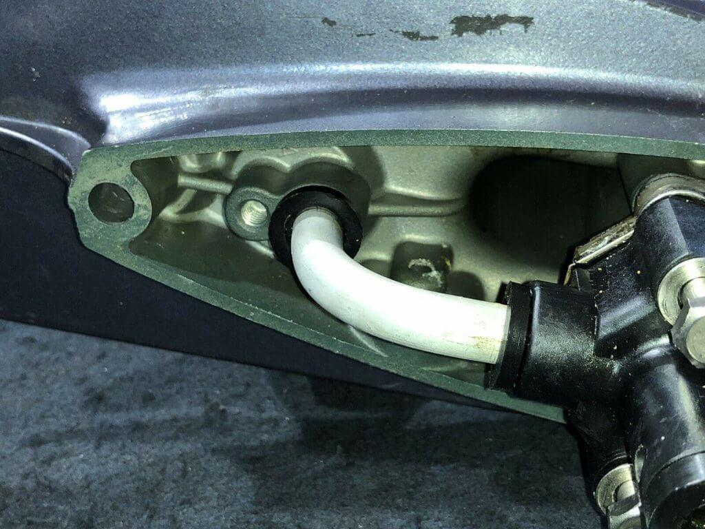 Nissan Tohatsu 5hp Gear Case Impeller Housing View 3