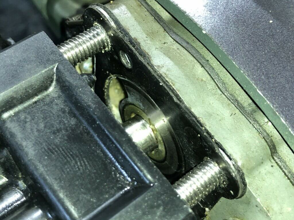 Close Up Impeller Nissan Tohatsu 5hp Gear Case